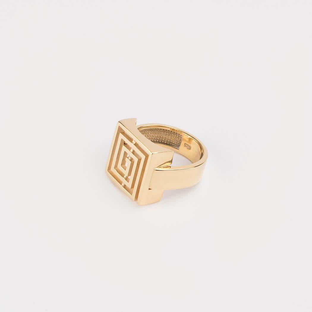 KI Lavirint prsten